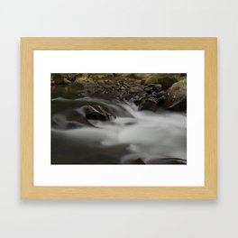Peaceful Creek Framed Art Print