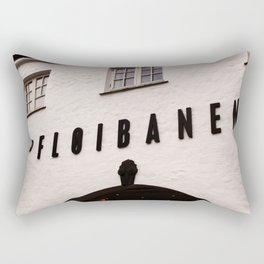 Fløibanen I Rectangular Pillow