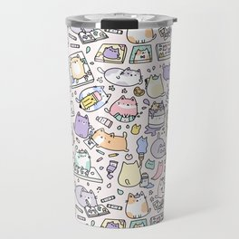 Artsy Cats Travel Mug