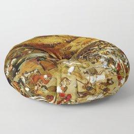 "Pieter Bruegel (also Brueghel or Breughel) the Elder ""The Triumph of Death"" Floor Pillow"