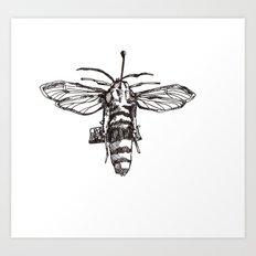 The Hornet Art Print