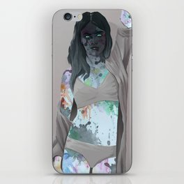 Body Paint iPhone Skin