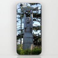 iron maiden iPhone & iPod Skins featuring Maiden by Donna Creamore