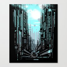 Urban Memories Canvas Print
