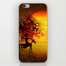 Visions of fire iPhone & iPod Skin