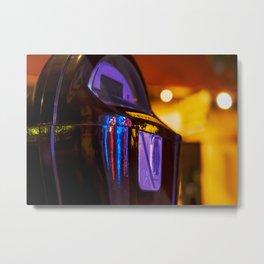 The Night Sentry: Parking Meter on Bardstown Road Metal Print