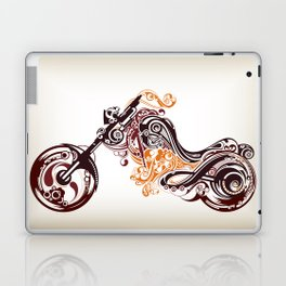 Abstract Motorcycle Laptop & iPad Skin