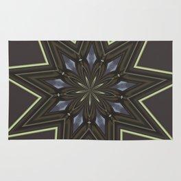 Nine Pointed Star Rug