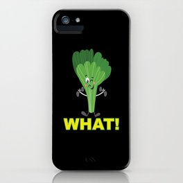 Leek While Pumping Fitness Sport Strength Training iPhone Case