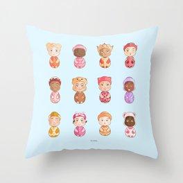Rima Creation Throw Pillow