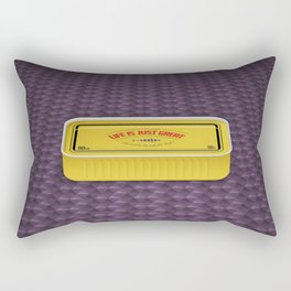 Life Is Just Great On Low Budget Too Rectangular Pillow