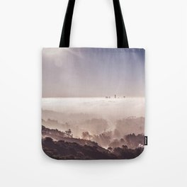 Above The Clouds | Los Angeles Tote Bag