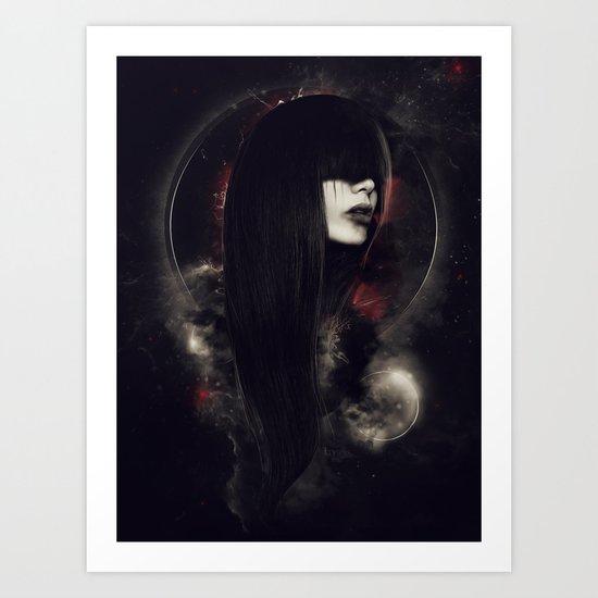 Despair Art Print