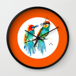 Watercolor 2 Wall Clock