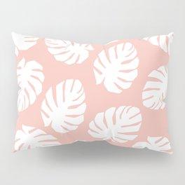 Tropics White Pillow Sham