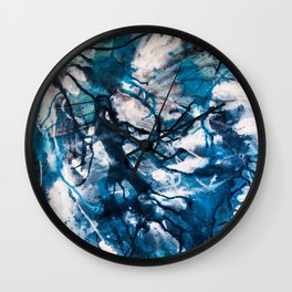 For she is the storm Wall Clock