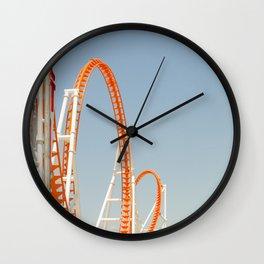 Coney Island Thunderbolt Wall Clock