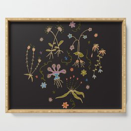 Flora of Planet Hinterland Serving Tray