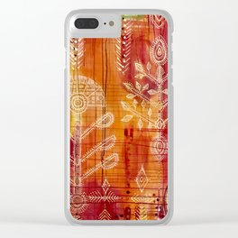 Nomadic Tree of Life Clear iPhone Case