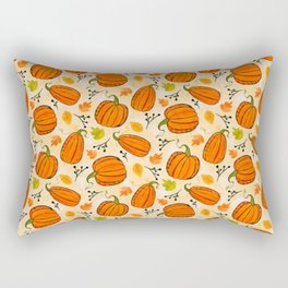 Pumpkins pattern I Rectangular Pillow