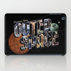 Greetings From Outer Space (color 01) iPad Case