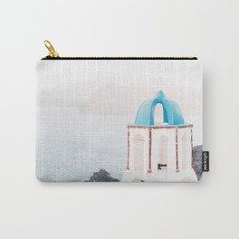 Santorini Greece Mamma Mia Church Photography Carry-All Pouch