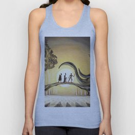 The Tale of the Three Brothers Unisex Tank Top