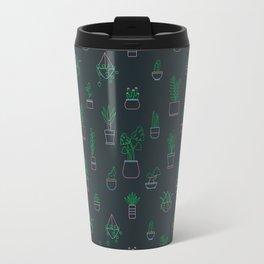 Neon Plants Travel Mug