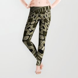 Tribal Gold Glam Leggings