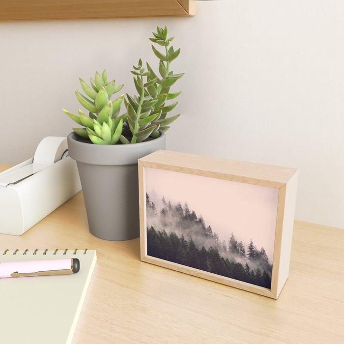 Summer Fog Framed Mini Art Print