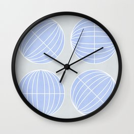 When the world turns around - minimal Wall Clock