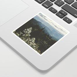 Smoky Mountains - Nature Photography Sticker