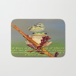 Frog and Butterfly Bath Mat