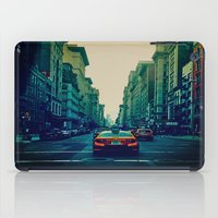 broadway iPad Cases featuring Broadway Ave. by Wanderlust Fhotos