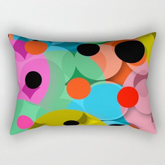 dots over dots Rectangular Pillow