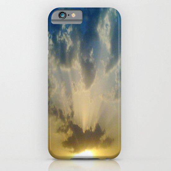 Pushing 'em away iPhone & iPod Case