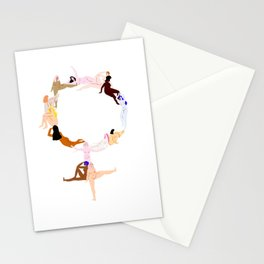 women pt 2 Stationery Cards