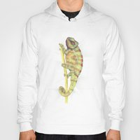 chameleon Hoodies featuring chameleon by merry