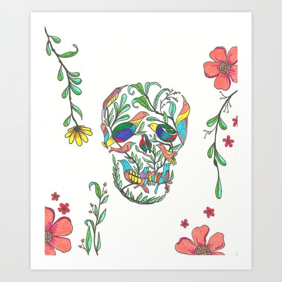 Natural Death Art Print