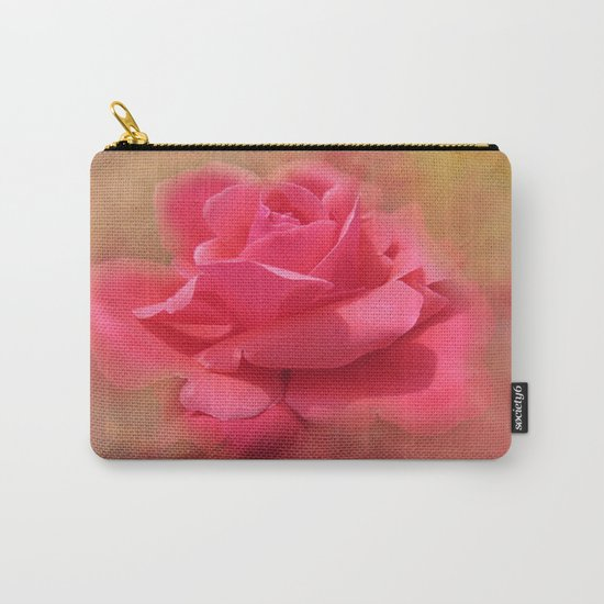 Enchanting Elegant Rose Carry-All Pouch
