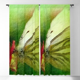 Butterfly's inn version 2 Blackout Curtain