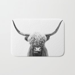 Scottish Highland Cow Bath Mat