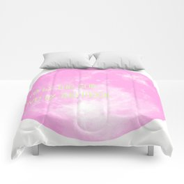 Love By The Moon Pink Comforters