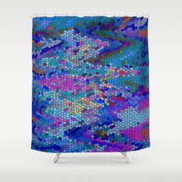 THE SECRET KEY CODE TO RUIAN HYPERSPACE TECHNOLOGY Shower Curtain