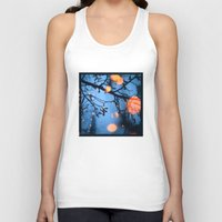 fireflies Tank Tops featuring Fireflies by Den Brooks