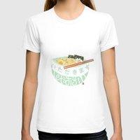 ramen T-shirts featuring Ramen. by k.b. doodles