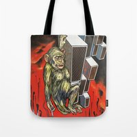 ape Tote Bags featuring Ape by VikaValter