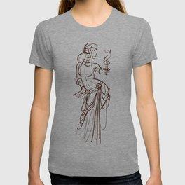 tribal fusion gypsy dancer T-shirt