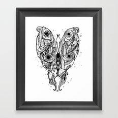 my sea butterfly Framed Art Print