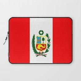 Flag of Peru Laptop Sleeve